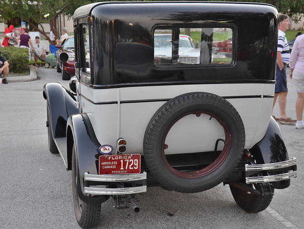 This is from the car show Saturday night. They had lots of great classics there.